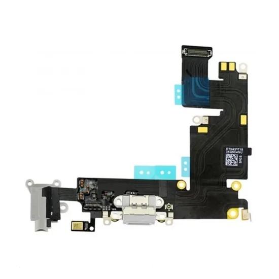 Flex Placa Conector De Carga Apple Iphone 6S Plus Cinza Original