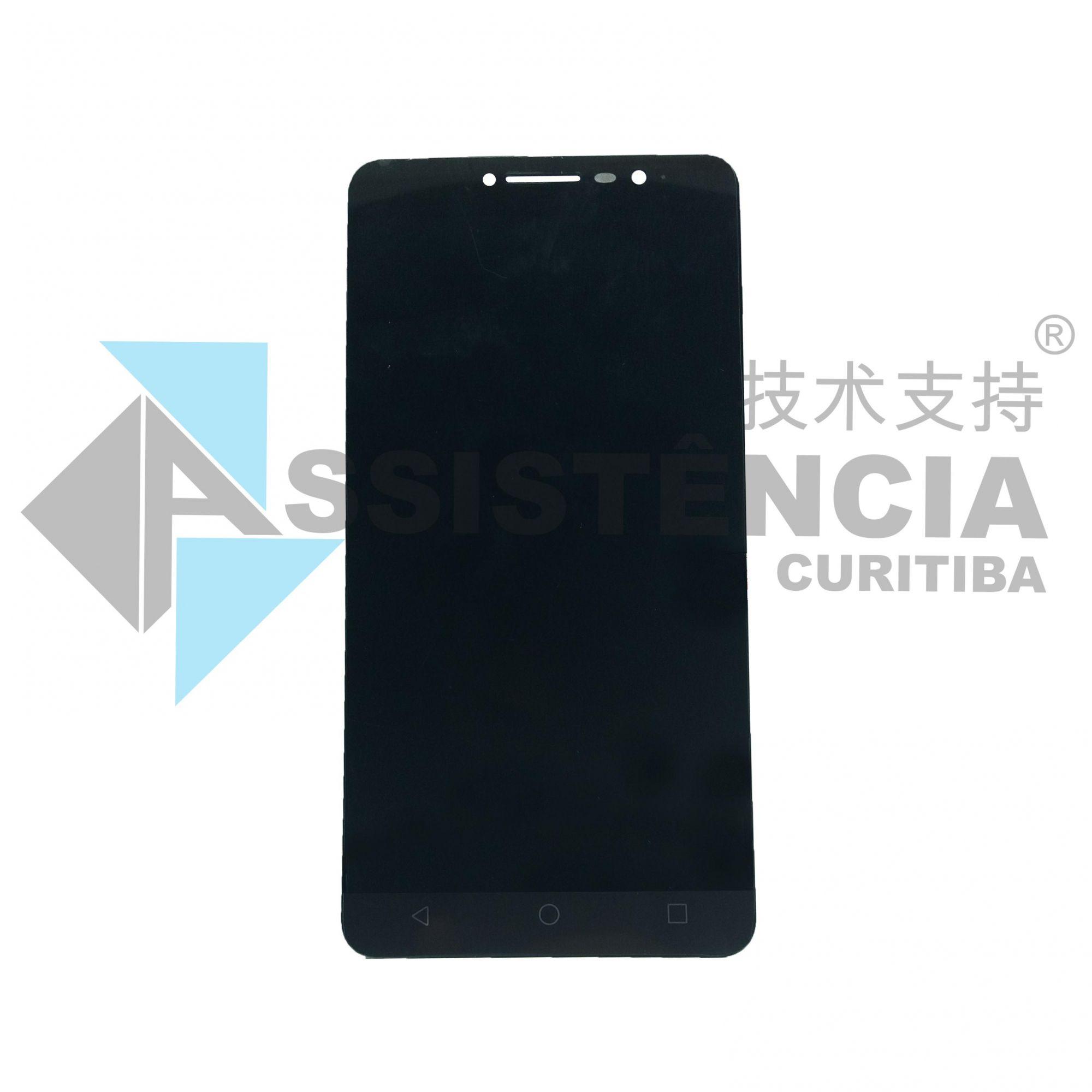 Tela Display Alcatel A3 Xl 9008 9008J Preto