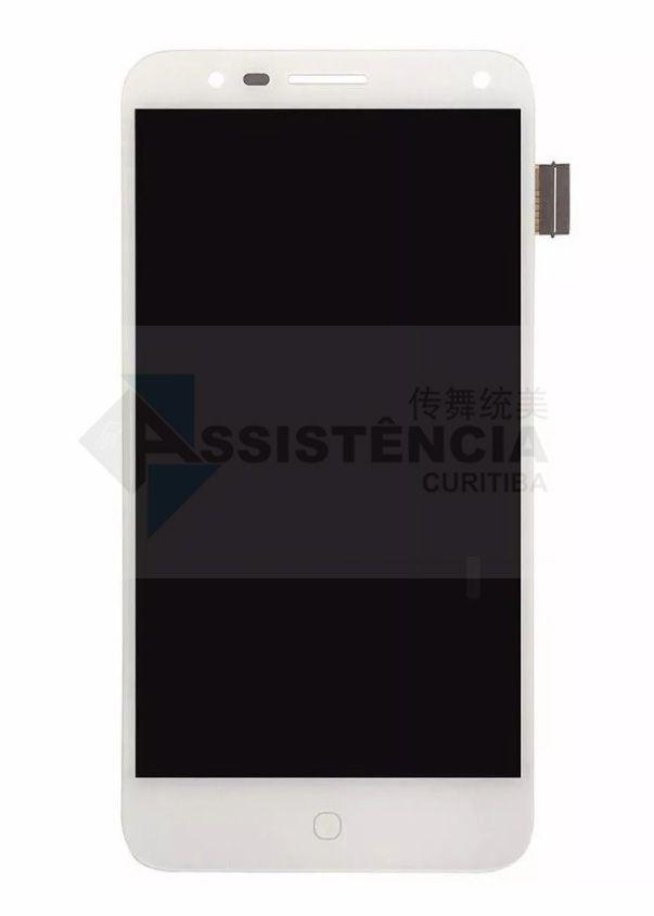 Tela Display Alcatel Pop 4 5051 5051D 5051X Branco