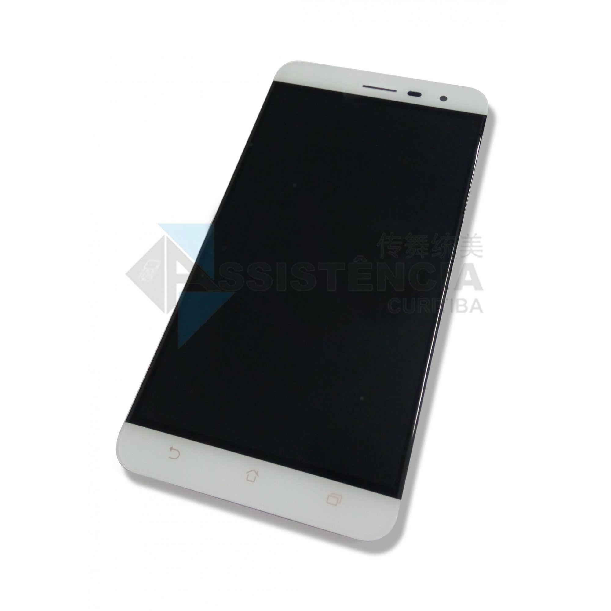 Tela Display Asus Zenfone 3 5.5 Ze552Kl Z012D Branco