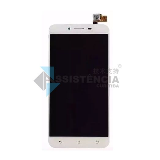Tela Display Asus Zenfone 3 Max Zc553Kl X00Dd Branco
