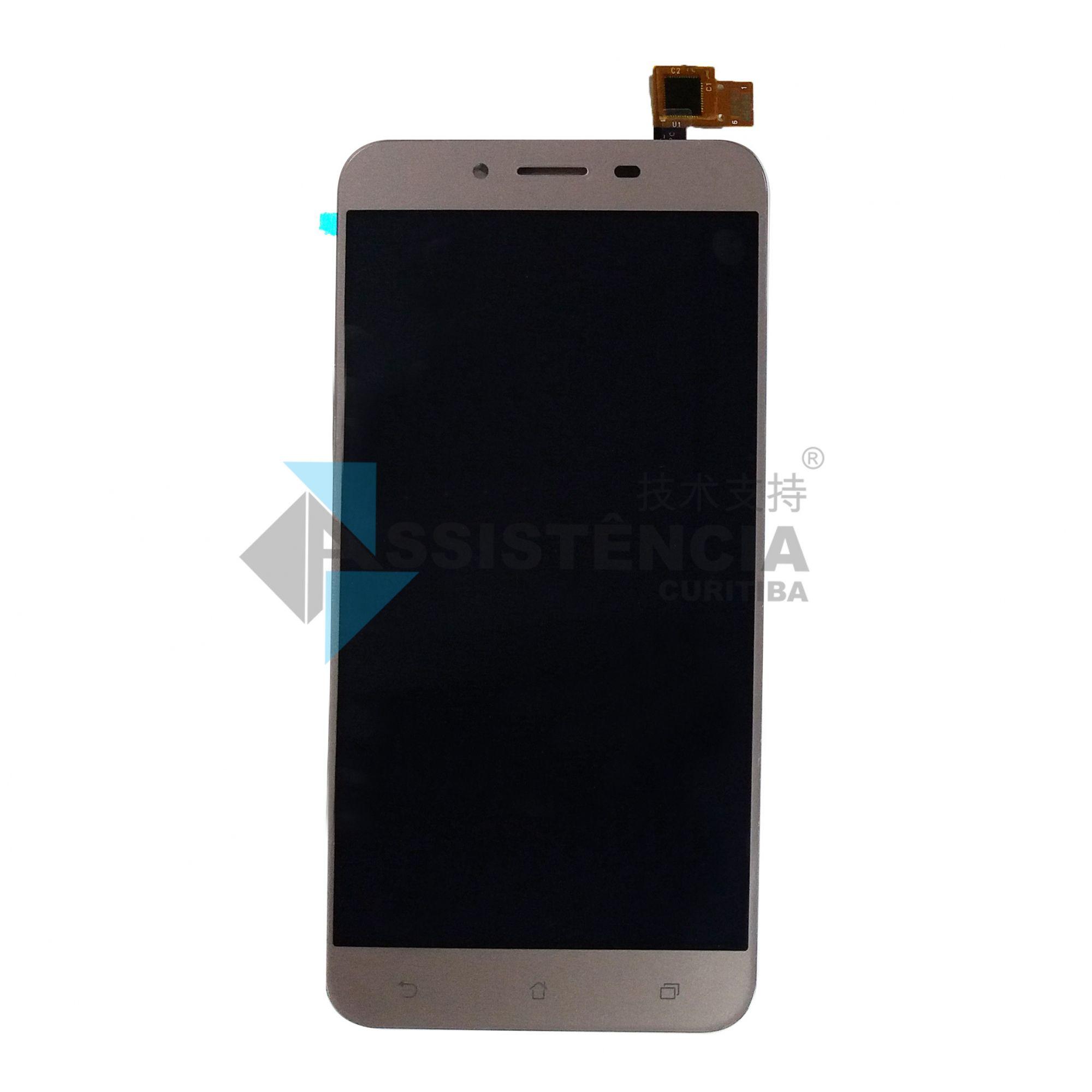 Tela Display Asus Zenfone 3 Max Zc553Kl X00Dd Dourado