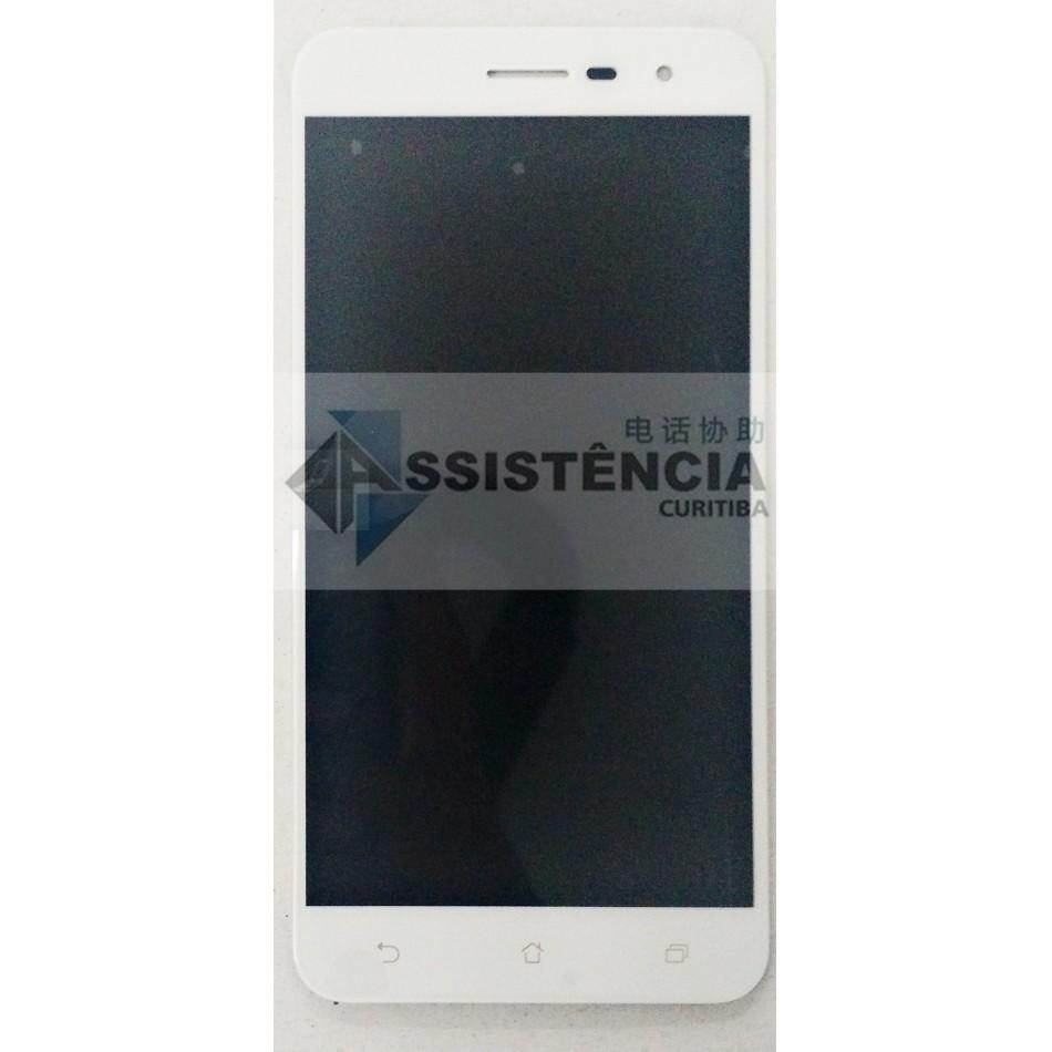 Tela Display Asus Zenfone 3 Ze520Kl Z017Dc Branco