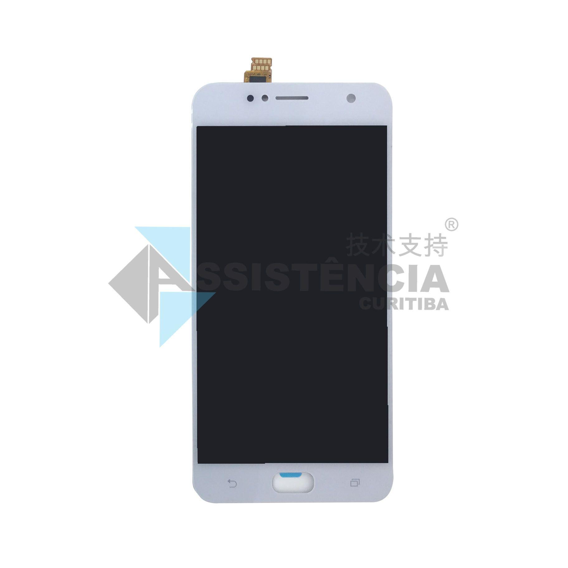 Tela Display Asus Zenfone 4 Selfie Zb553Kl Branco
