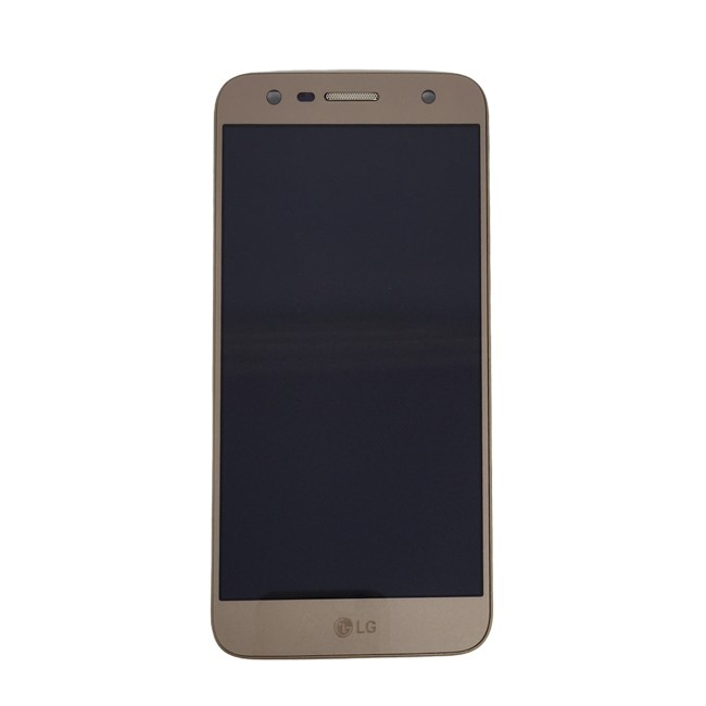 Tela Display Lg K10 Power M320 Tv C/Aro Original Dourado