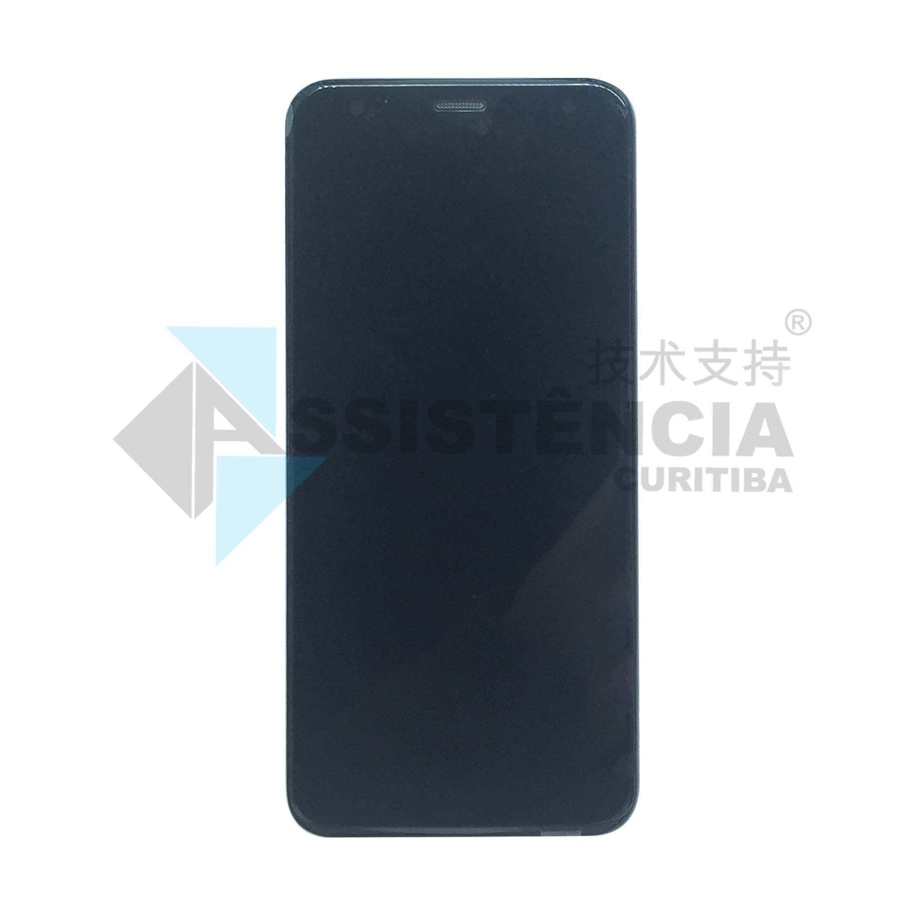 Tela Display Lg K12 K12+ X420 Com Aro