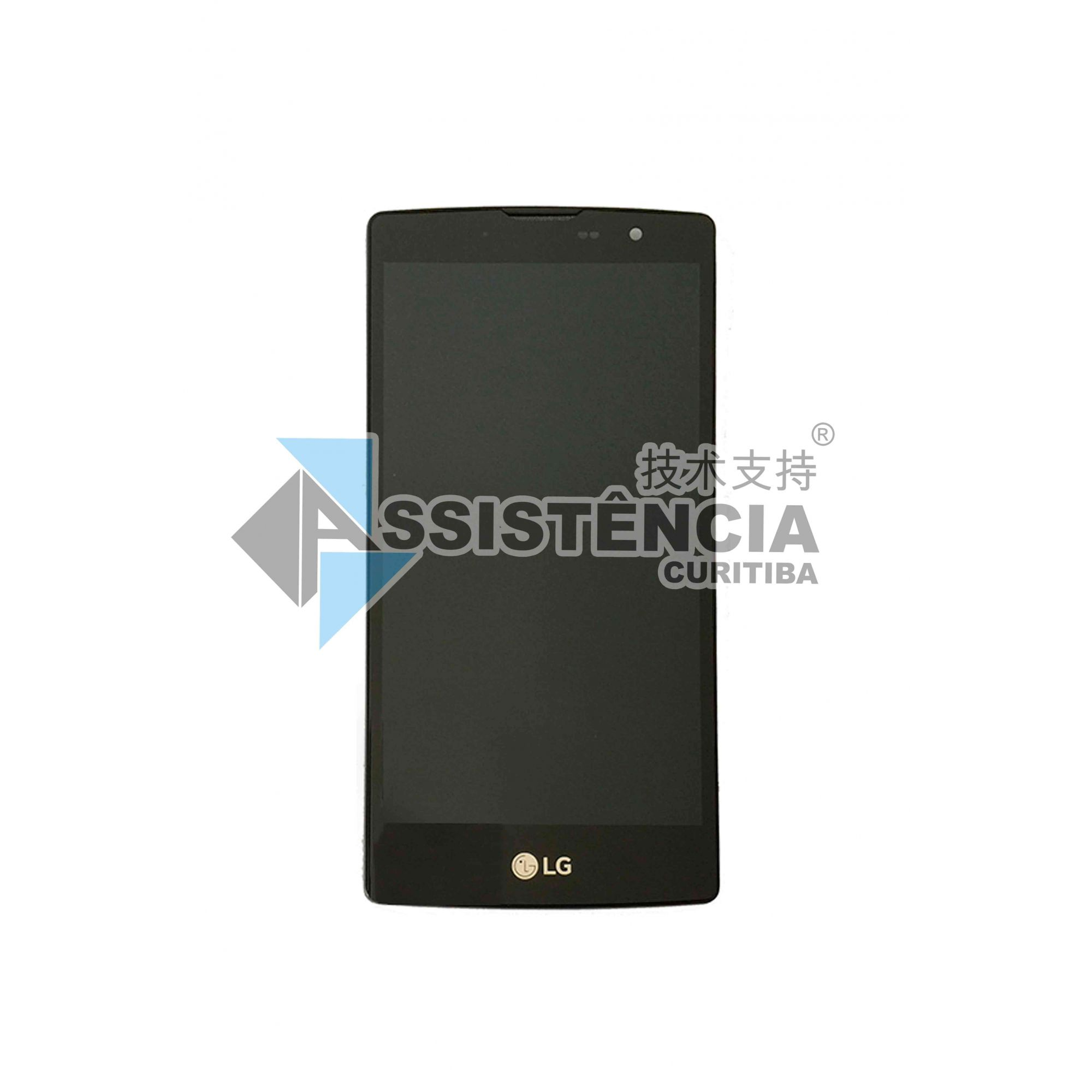 Tela Display Lg L Prime Plus H502 H520F H522 C/ Aro