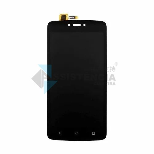 Tela Display Motorola Moto C Plus Xt1723 Xt1724 Xt1726 Preto