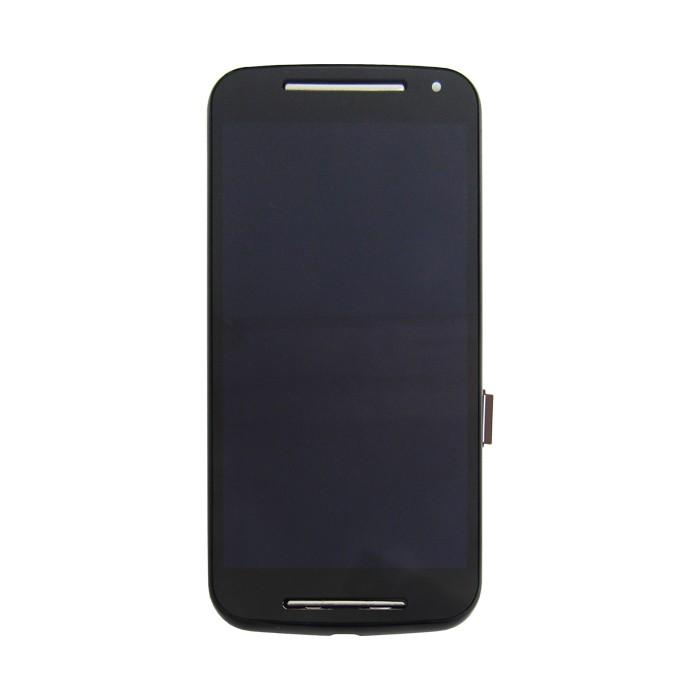 Tela Display Motorola Moto G2 2º Geração Xt1068 Xt1069 Com Aro