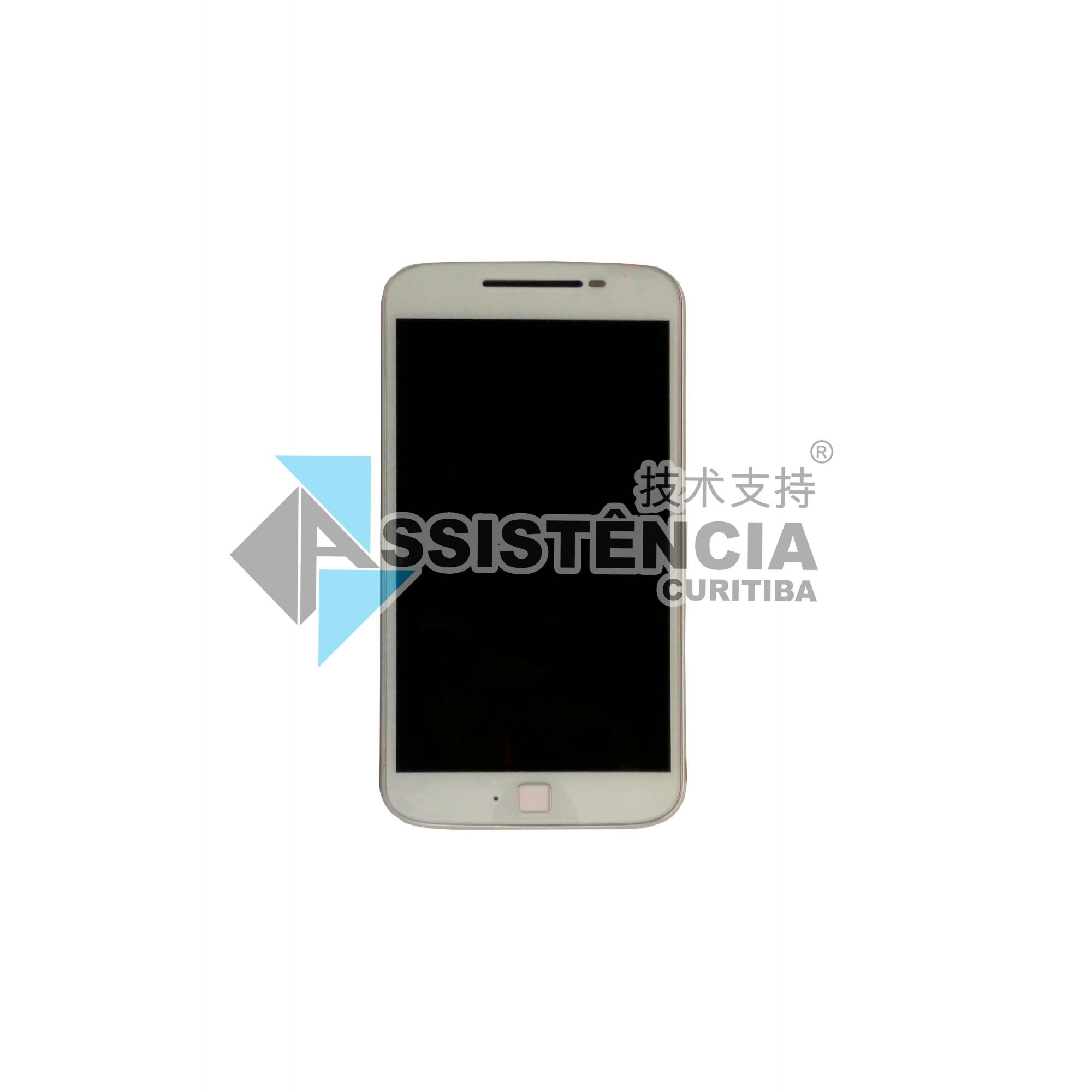 Tela Display Motorola Moto G4 Plus Xt1640 Xt1644 5.5 Com Aro Original Retirada Branco