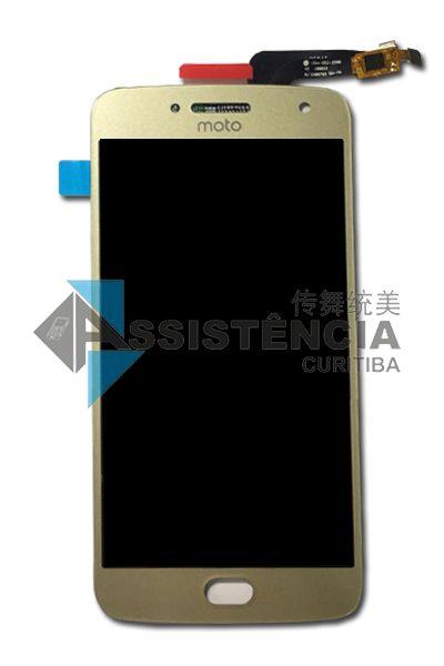 Tela Display Motorola Moto G5 Plus Xt1681 Xt1683 Dourado