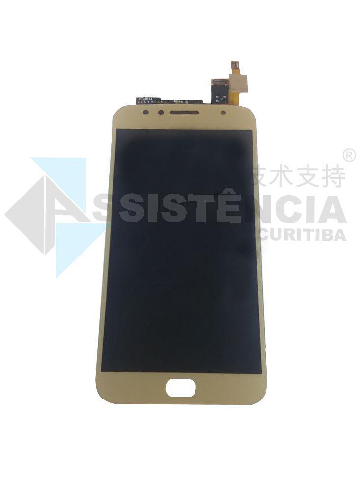 Tela Display Motorola Moto G5S Plus Xt1802 Xt1803 Xt1805 Xt1806 Dourado