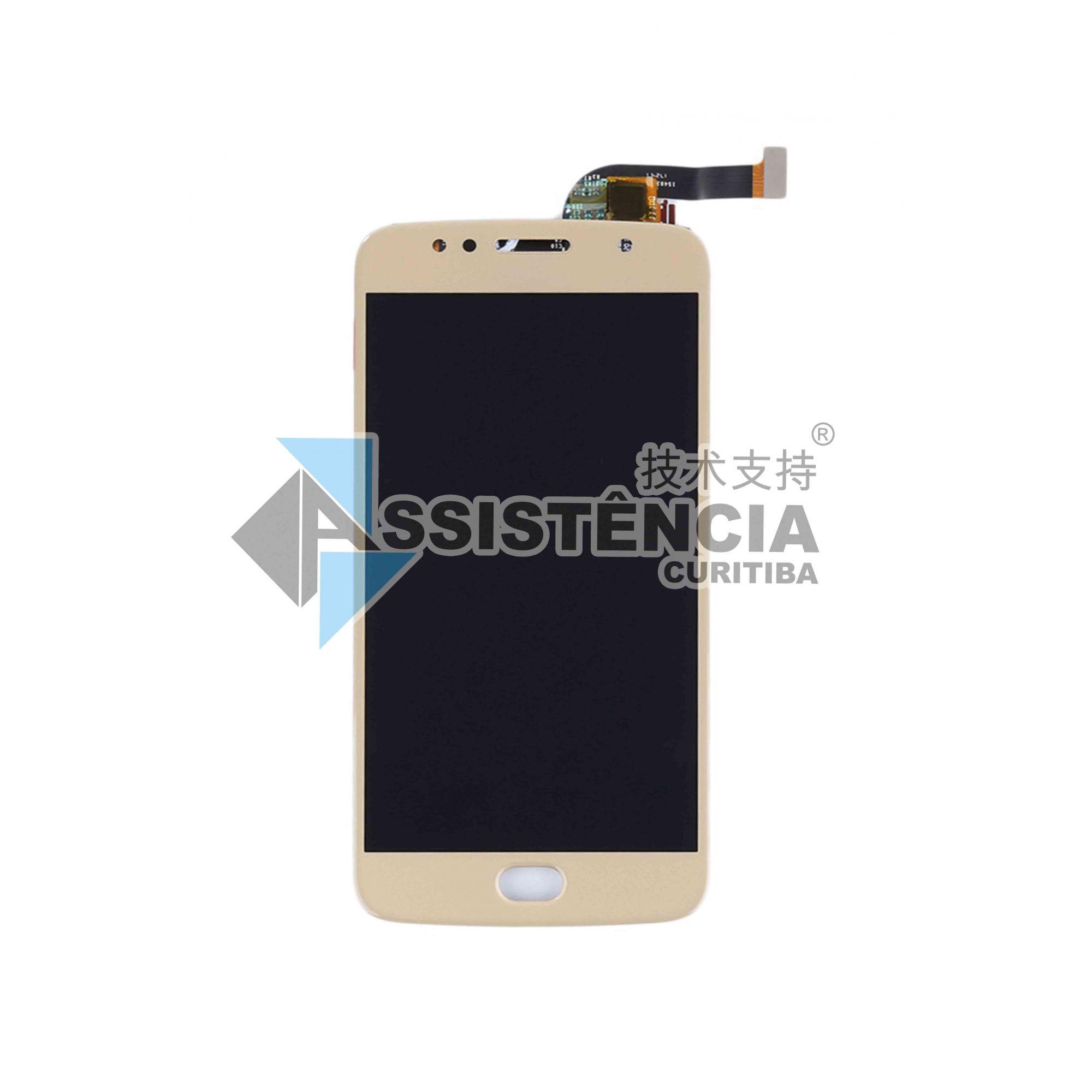 Tela Display Motorola Moto G5S Xt1792 Dourado (Lcd P)