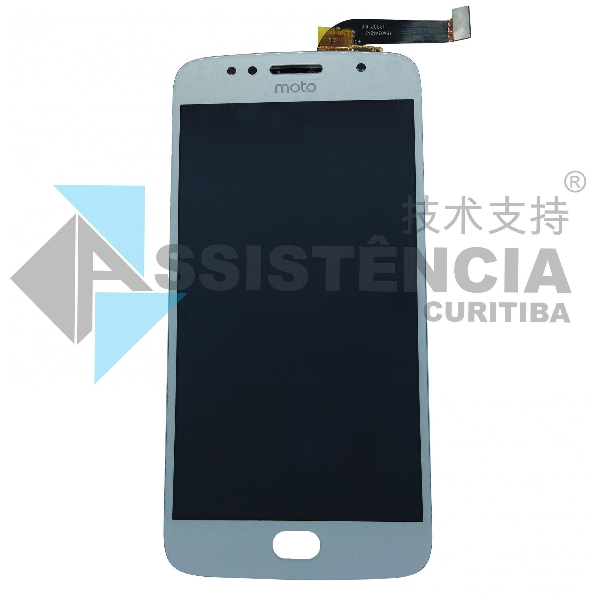 Tela Display Motorola Moto G5S Xt1792 Prata