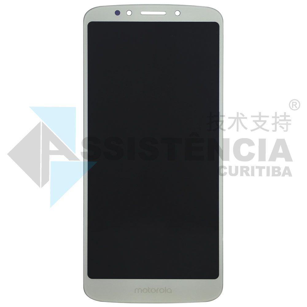 Tela Display Motorola Moto G6 Play Xt1922 Moto E5 Xt1944-4 Prata