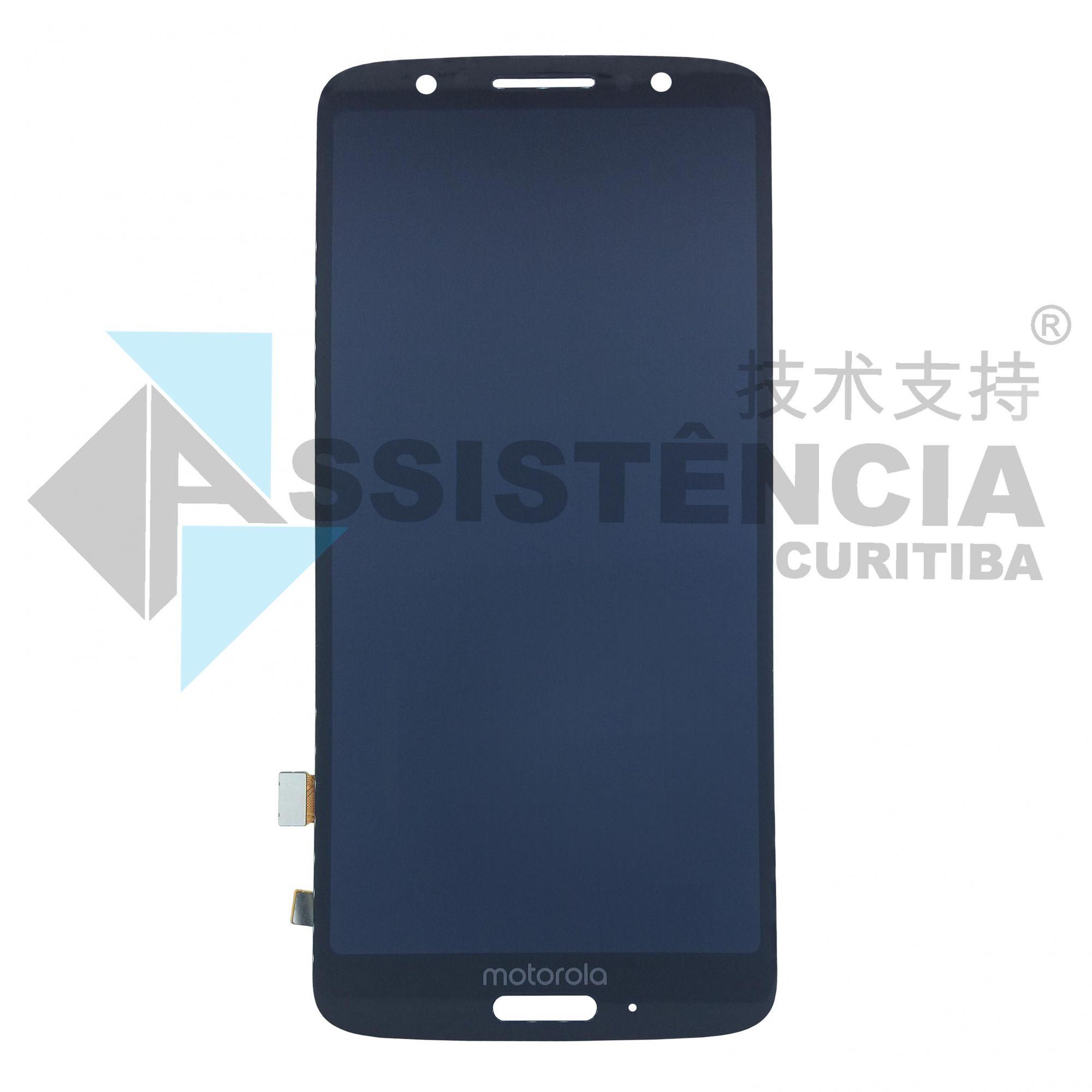 Tela Display Motorola Moto G6 Xt1925 Preto