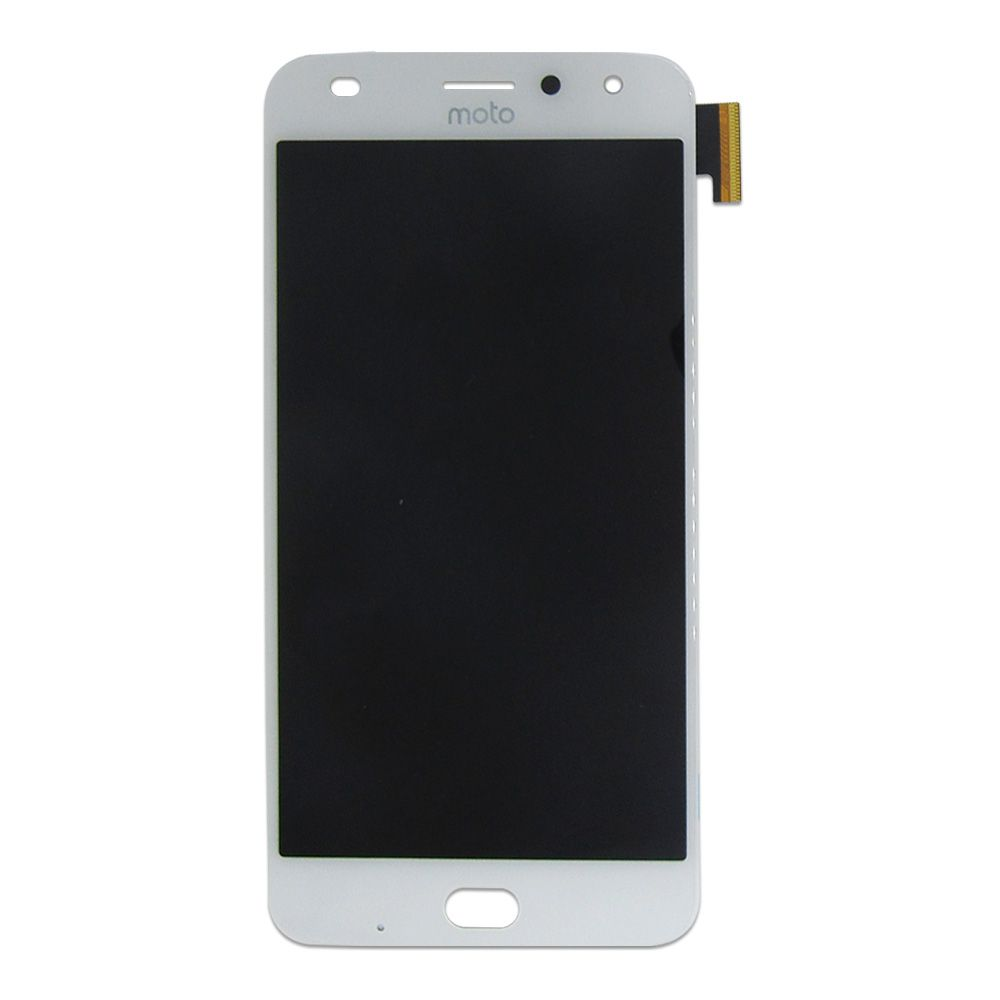 Tela Display Motorola Moto Z2 Play Xt1710 Original Ch Branco
