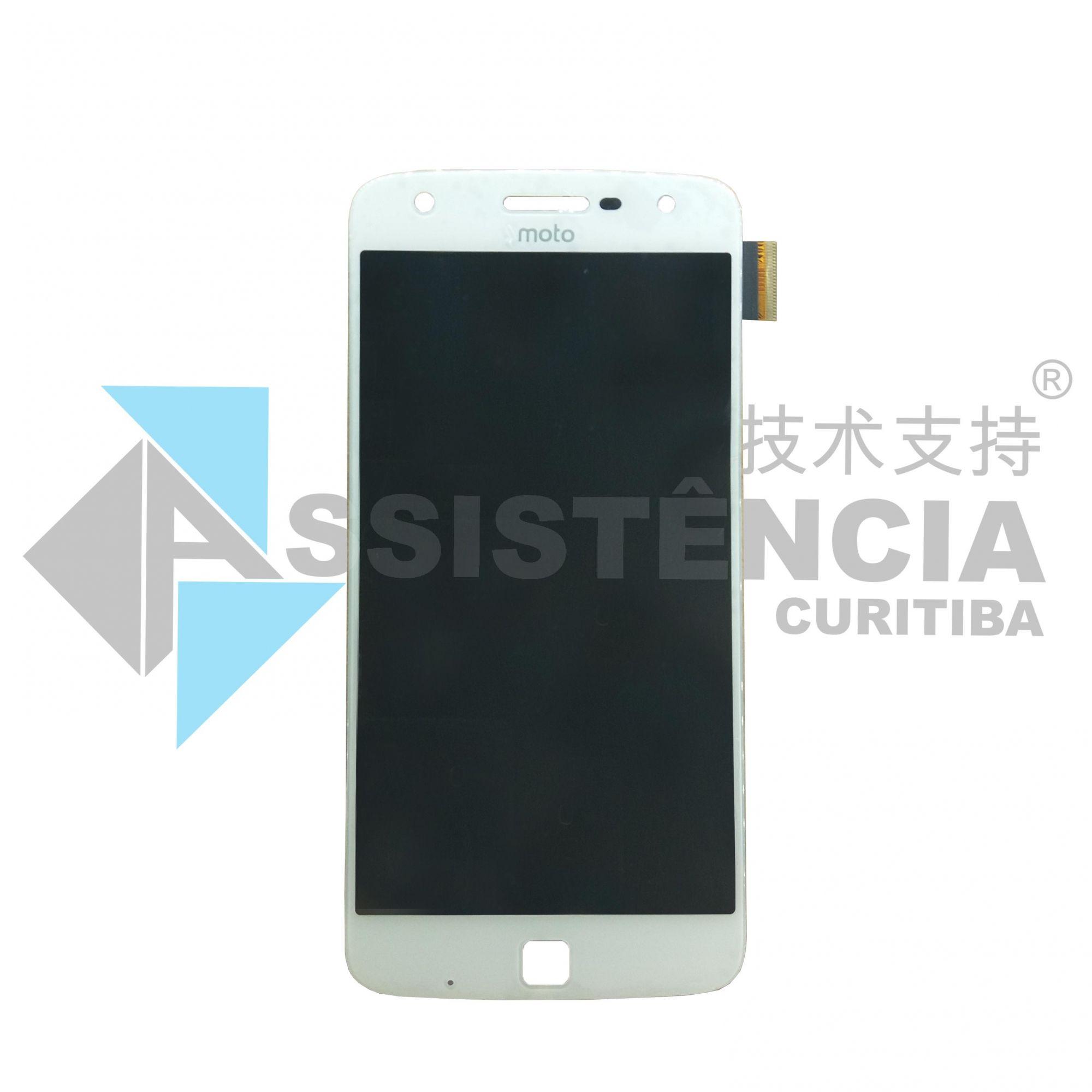 Tela Display Motorola Moto Z Play Xt1635 Branco