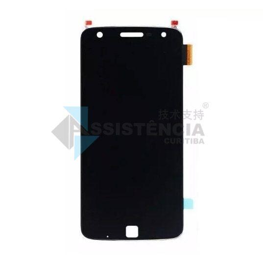 Tela Display Motorola Moto Z Play Xt1635 Preto Original Ch