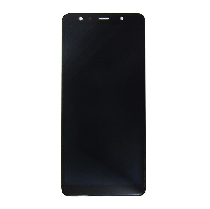 Tela Display Samsung A7 2018 A750 A750F Preto Original