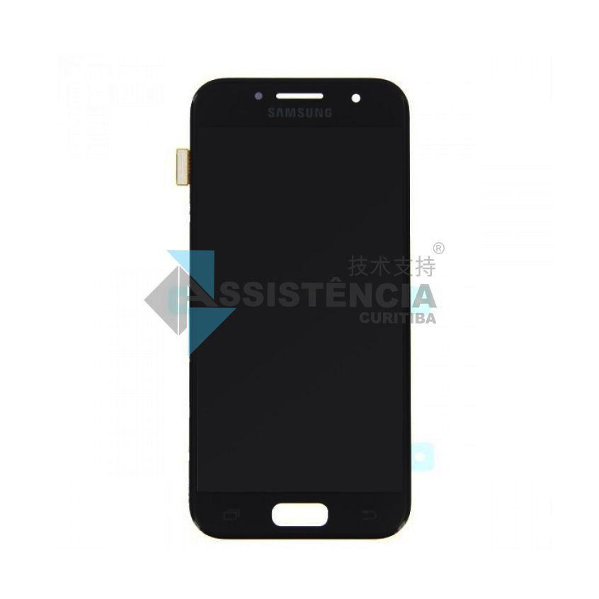 Tela Display Samsung Galaxy A3 2017 Sm A320 Original Preto