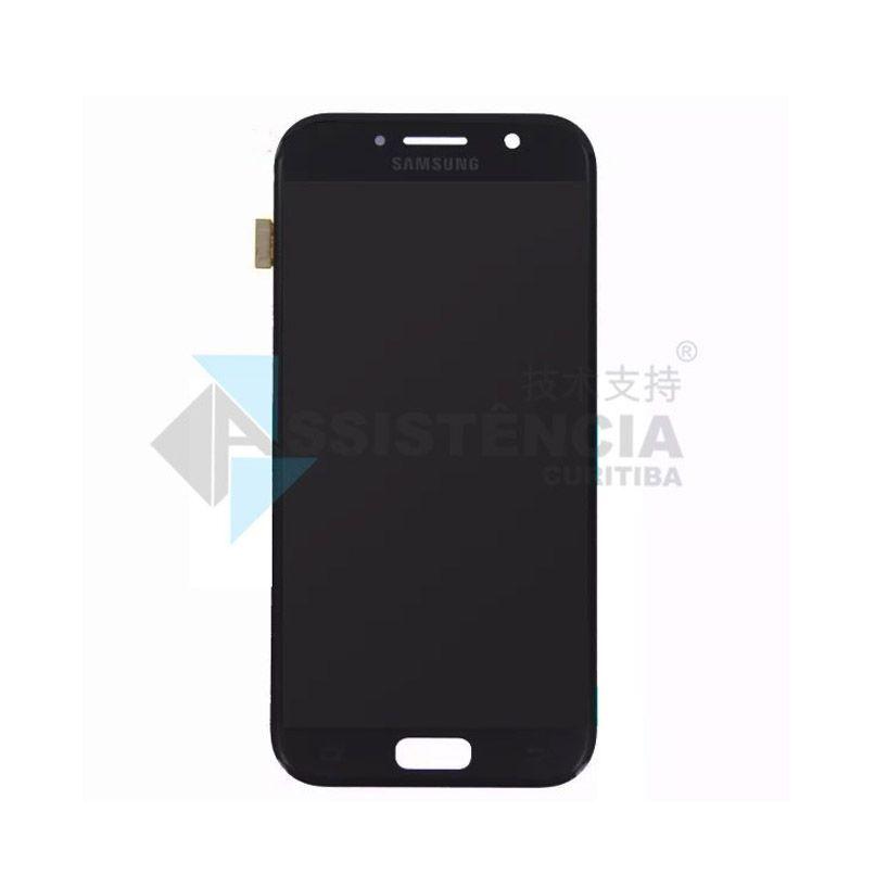 Tela Display Samsung Galaxy A5 2017 Sm-A520 Com Brilho Preto
