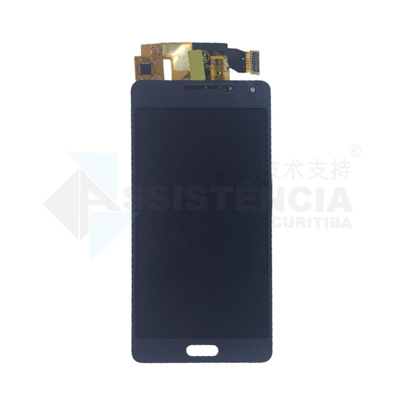 Tela Display Samsung Galaxy A5 A500 Com Brilho Azul