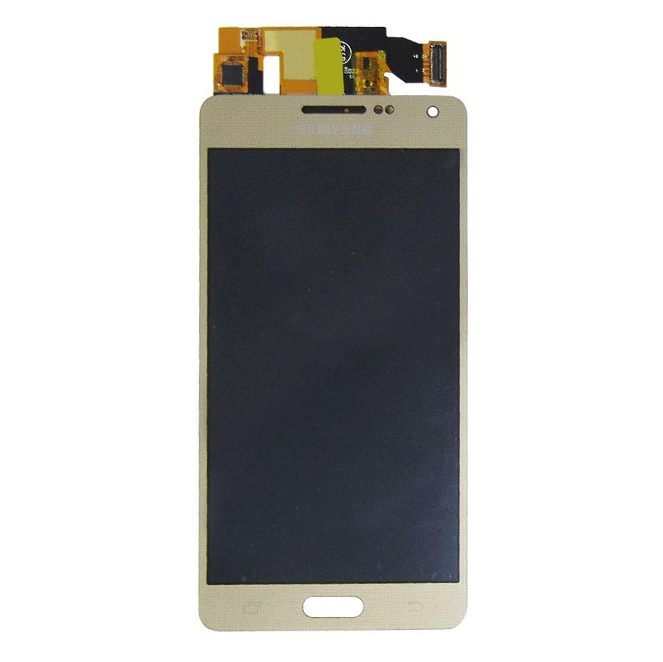 Tela Display Samsung Galaxy A5 A500 Com Brilho Dourado