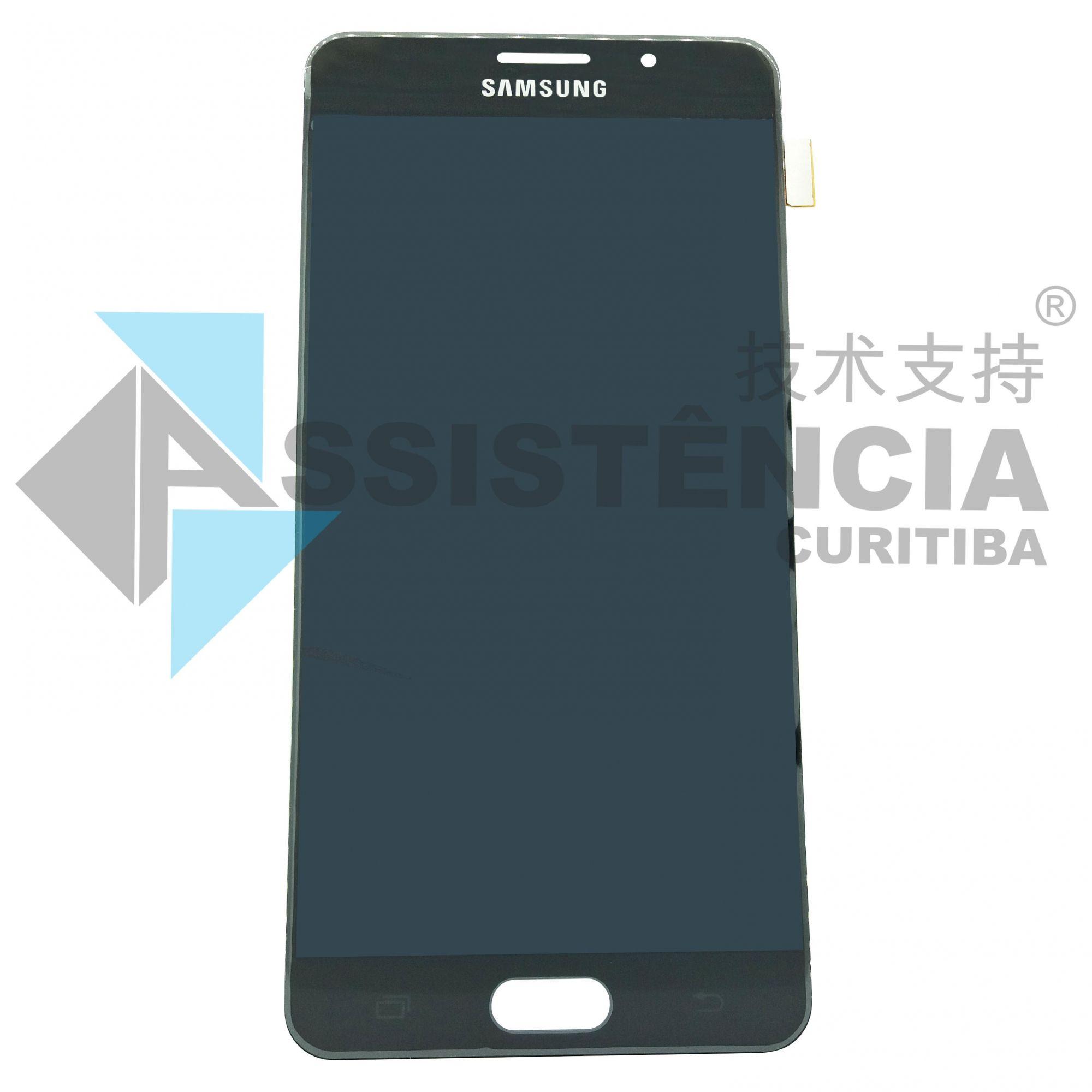 Tela Display Samsung Galaxy A7 A710 Original Ch Preto