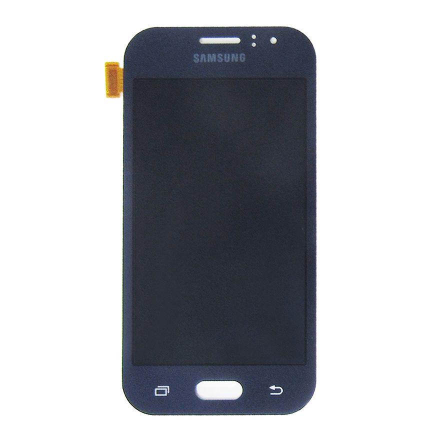 Tela Display Samsung Galaxy J1 Ace J110 Com Brilho Azul