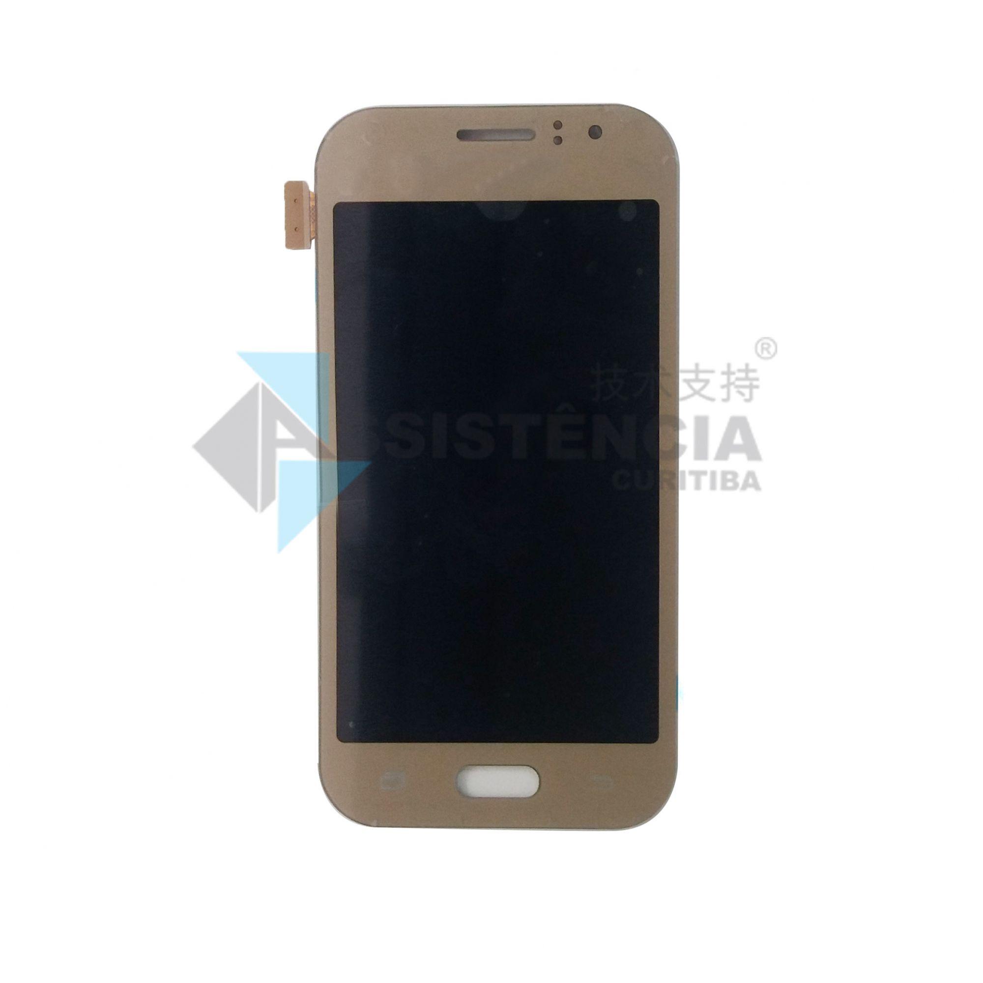 Tela Display Samsung Galaxy J1 Ace J110 Original Dourado