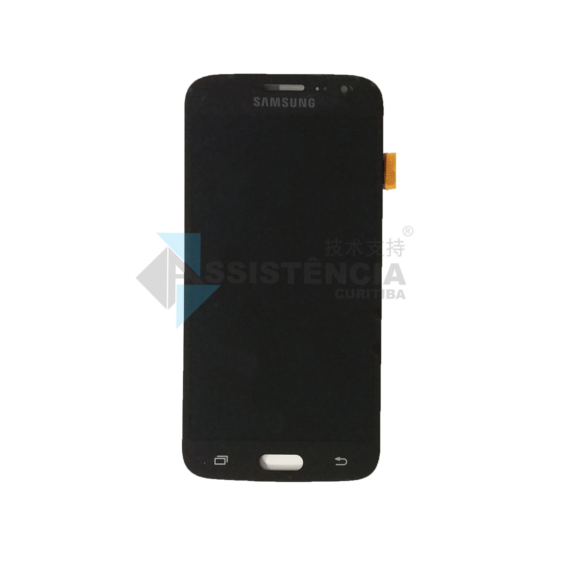 Tela Display Samsung Galaxy J2 2016 J210 Sm-J210 Com Brilho Preto