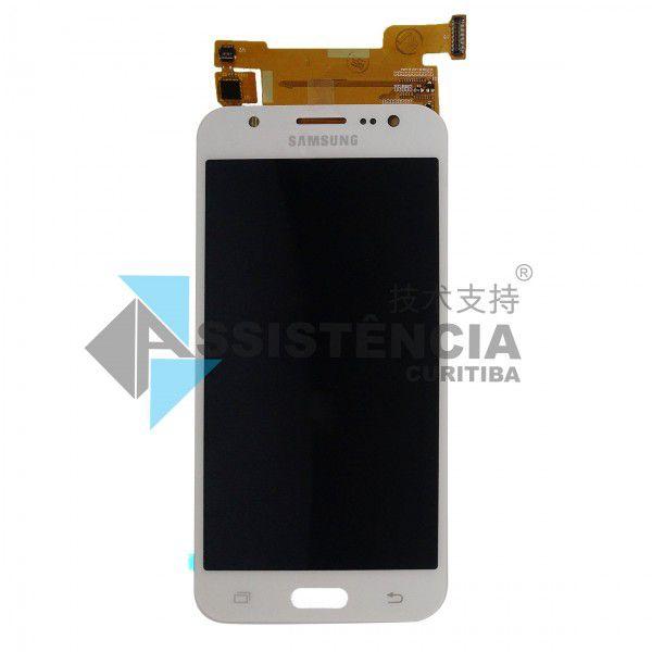 Tela Display Samsung Galaxy J2 J200 Com Brilho Branco