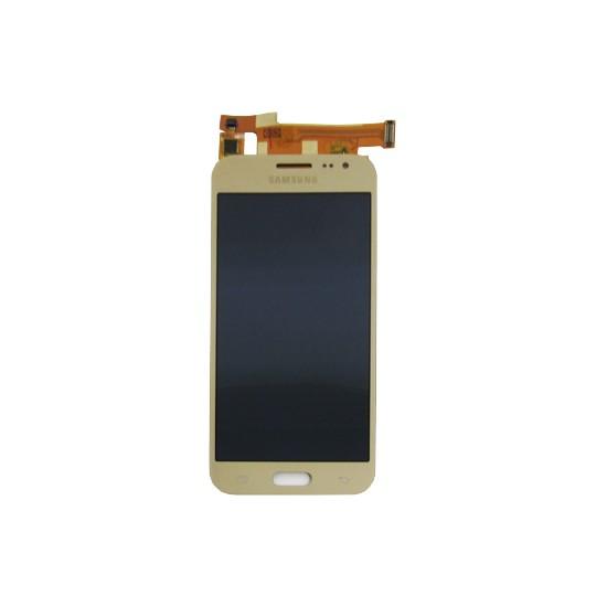 Tela Display Samsung Galaxy J2 J200 Com Brilho Dourado