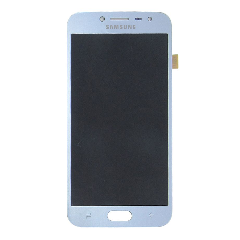 Tela Display Samsung Galaxy J2 Pro J250 Com Brilho Azul