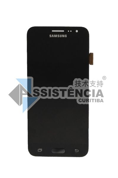 Tela Display Samsung Galaxy J3 J320 Sm-J320 2016 Original Preto