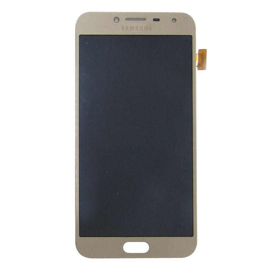 Tela Display Samsung Galaxy J4 J400 Com Brilho Dourado
