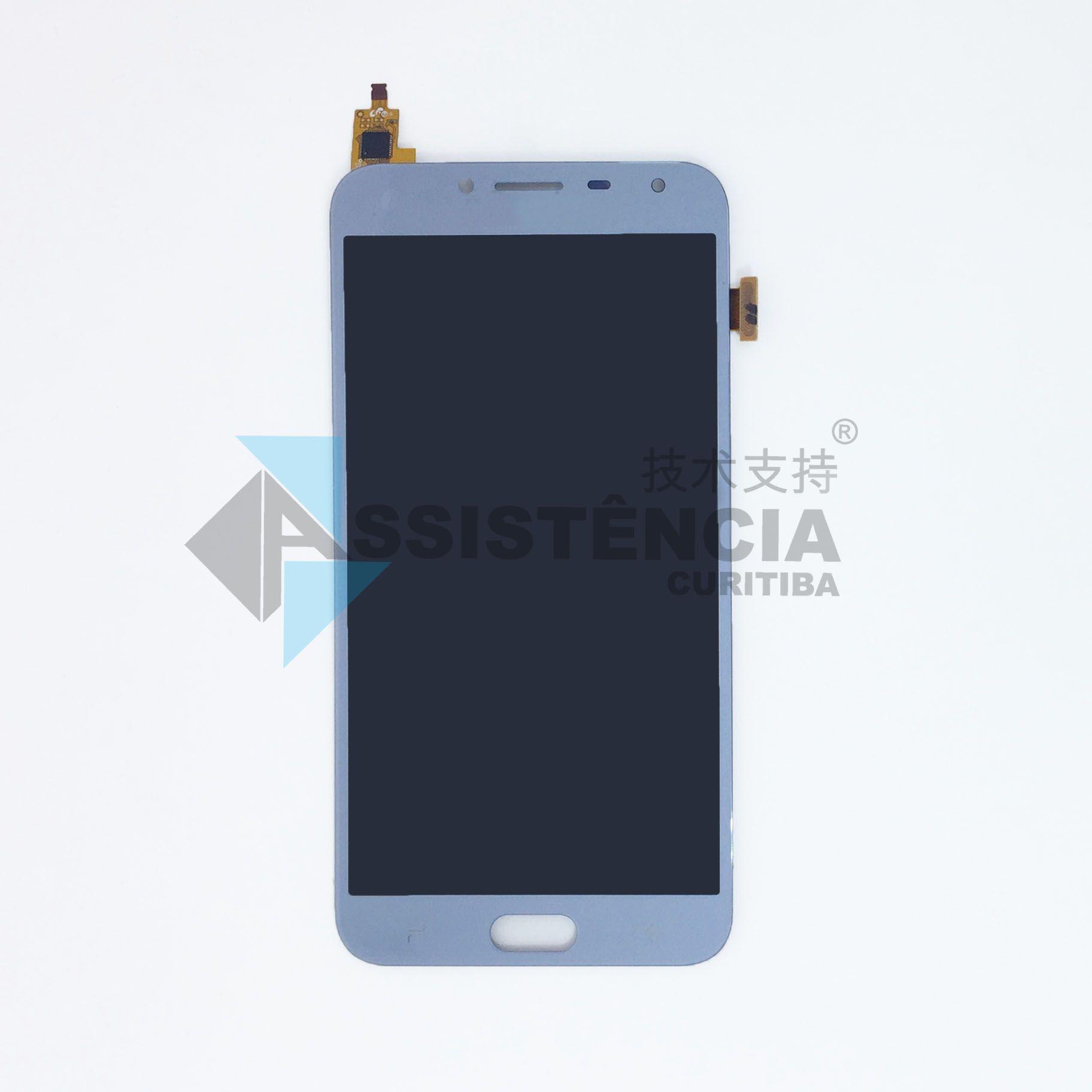 Tela Display Samsung Galaxy J4 J400 Com Brilho Nevoa