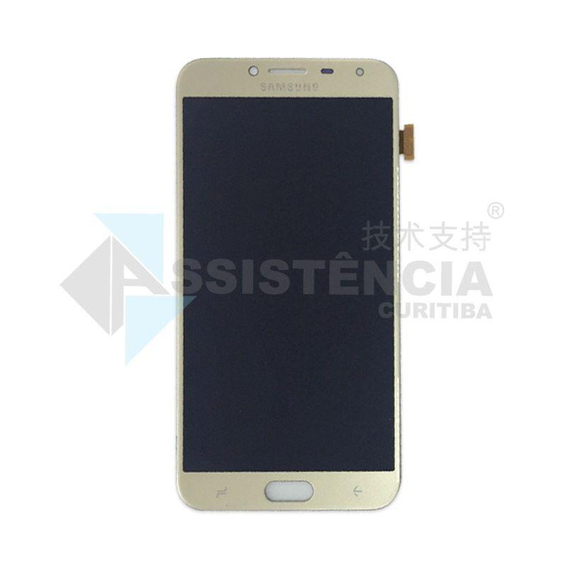 Tela Display Samsung Galaxy J4 J400 Original Ch Dourado