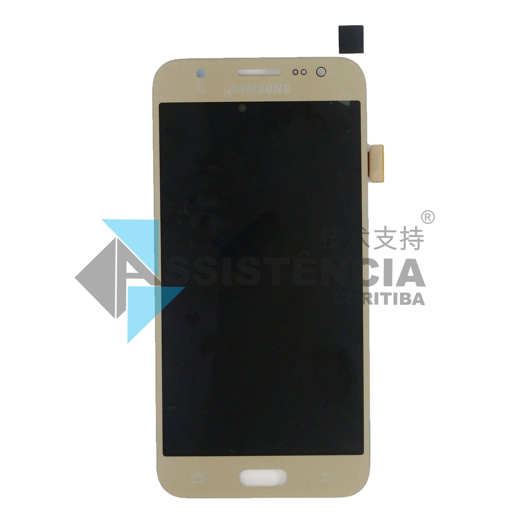 Tela Display Samsung Galaxy J5 J500 Sm-J500M/Ds Original Ch Dourado
