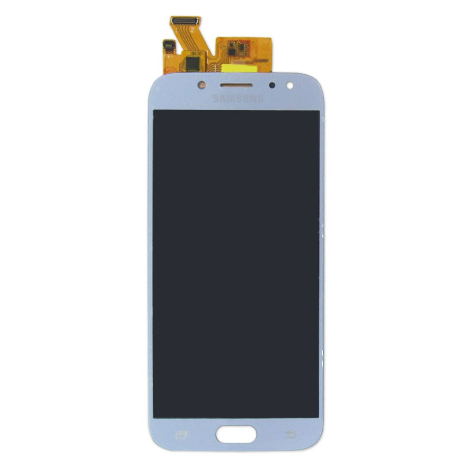 Tela Display Samsung Galaxy J5 Pro J530 Com Brilho Azul Prata