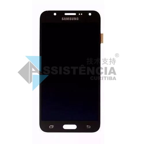 Tela Display Samsung Galaxy J7 J700 Sm-J700M/Ds Original Ch Preto