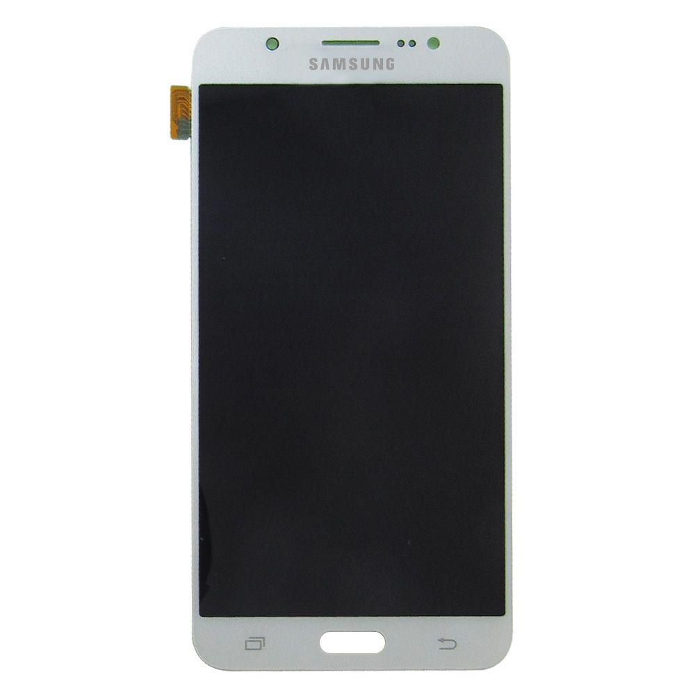 Tela Display Samsung Galaxy J7 J710 Metal 2016 Original Ch Branco