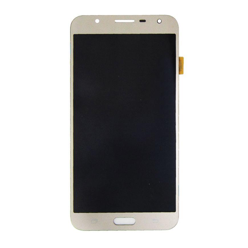 Tela Display Samsung Galaxy J7 Neo Sm J701 Original Ch Dourado