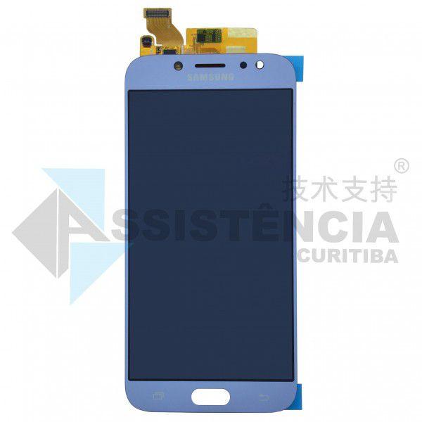Tela Display Samsung Galaxy J7 Pro J730 Com Brilho Nevoa