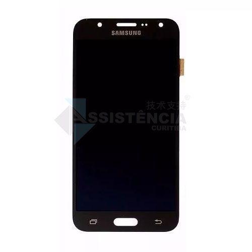 Tela Display Samsung Galaxy J7 Sm-J700 Com Brilho Preto