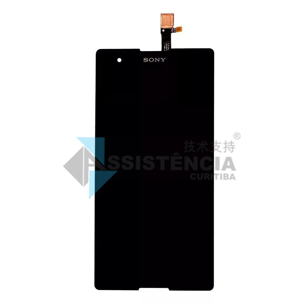 Tela Display Sony Xperia T2 Ultra D5322 D5303 Preto