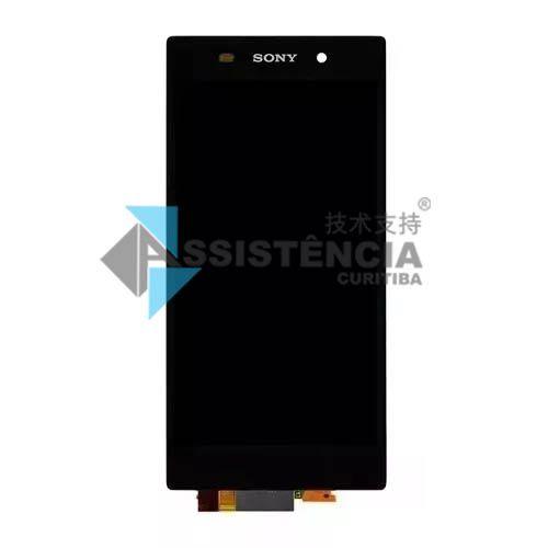 Tela Display Sony Xperia Z1 C6903 C6902 C6943 Preto