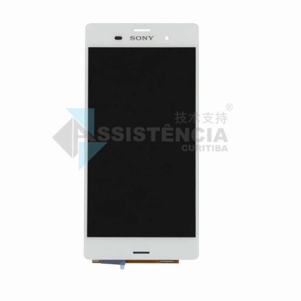 Tela Display Sony Xperia Z3 D6603 D6633 D6643 D6653 Branco