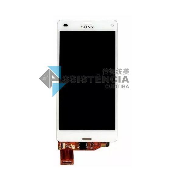 Tela Display Sony Xperia Z3 Mini Compact D5833 D5803 Branco